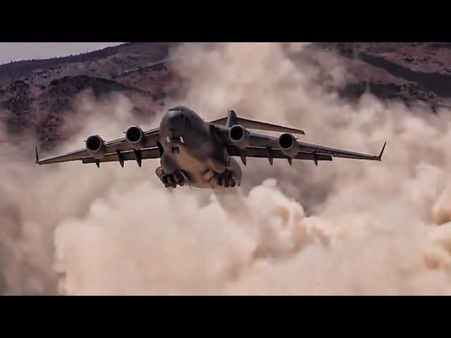 U.S. Air Force CSAR Desert Airstrip Training