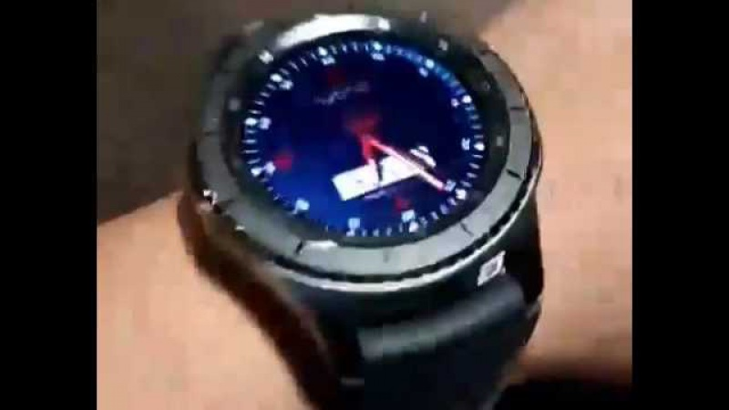 SAMSUNG Gear S3 with Hi Color Always On Display ( AOD) with LuxuryWatches 3D APP