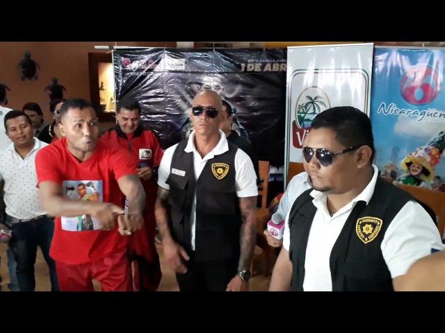 Ricardo Mayorga con sus acostumbrados insultos en contra de Jaudiel Zepeda
