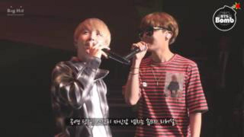BANGTAN BOMB BTS' Vocal Duet 'SOPE ME' Stage behind the scene BTS 방탄소년단
