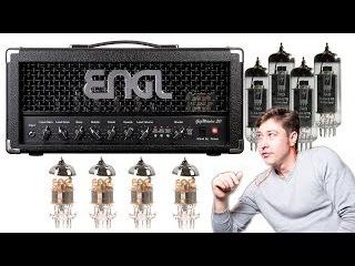 Как менять лампы в гитарном усилителе?