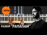 MiyaGi &amp Эндшпиль feat. 9 Грамм Рапапам - Видео-урок на пианино Piano_tutorial + НОТЫ &amp MIDI