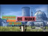Раскидки гранат на карте De_nuke