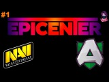 NaVi vs Alliance #1 (bo3) EPICENTER׃ Moscow S2