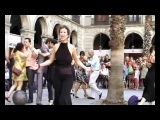 FLASHMOB TANGO Homenaje Carlos Gardel. Barcelona-Montevideo-Buenos Aires. www.UPTango.com