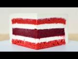 Муссовый торт Красный бархат