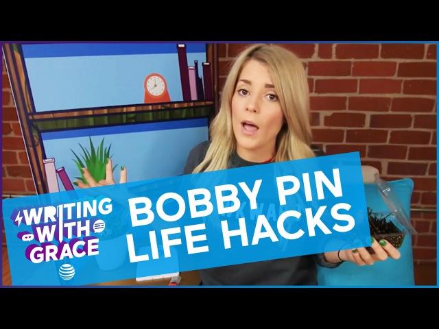 BOBBY PIN LIFE HACKS / WWG EP 6 Grace Helbig