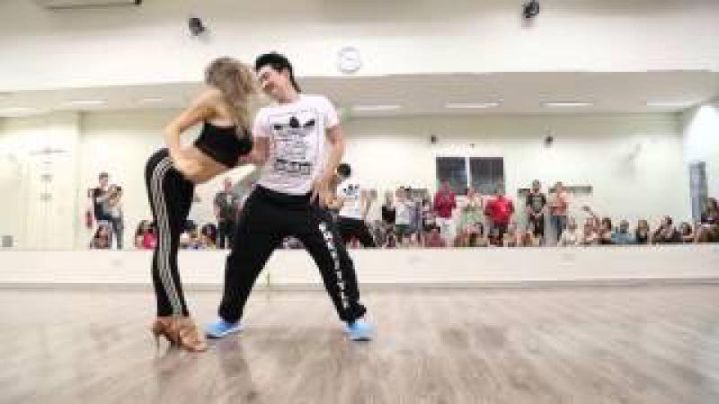 Marcelo e Eglantine - Intensivo de Zouk (27/09/15)