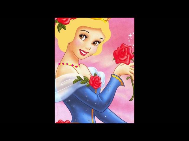 Если бы все дисней принцессы были блондинками