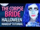 ❤️ The Corpse Bride Costume Halloween Makeup Tutorial | Victoria Lyn Beauty