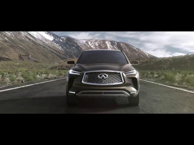 INFINITI QX50 Concept - A vision for the future of mid-size premium SUVs
