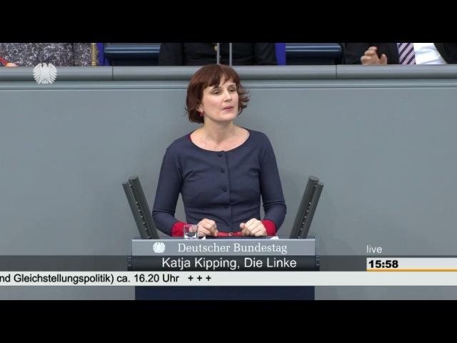 Katja Kipping, DIE LINKE: Den gläsernen Decken den Kampf ansagen!