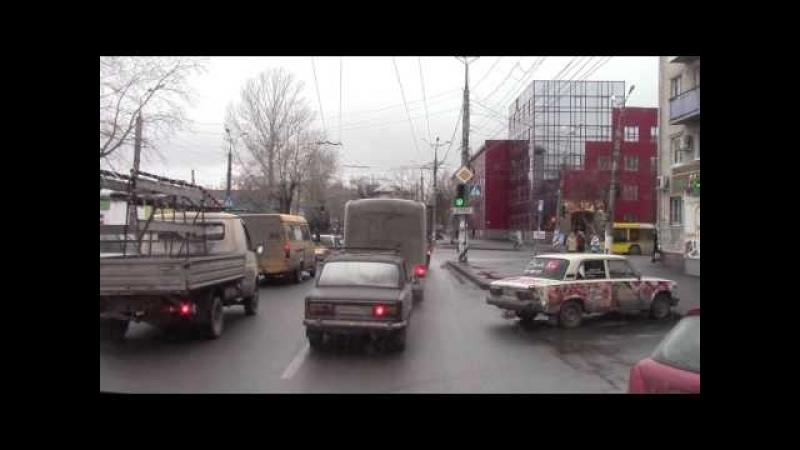 Троллейбусный маршрут №4 троллейбус Зиу 682Г г Тольятти