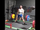 Дэвид Ла Мартина - тяга 295 кг на 10 повторов
