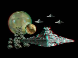 3D VIDEO STAR WARS(кр син 3d анаглиф)