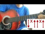 Урок №3 _ Напиши письмо маган - Казакша разбор на гитаре урок HD