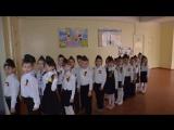 Смотр строя и песни начальной школы в МОШ №32