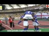 Гол Роналдиньо в ворота Англии