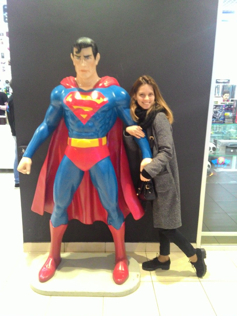Обнимашки с суперменом :D