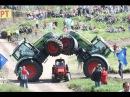 Трек шоу Бизон 2016, гонки на тракторах, лучшие моменты!