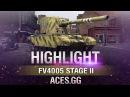 Чистые ваншоты FV4005 Stage II в World of Tanks