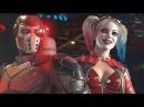 Харли Квинн и Дэдшот в Injustice 2! HD Gamescom 2016