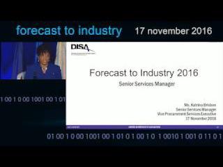 Katrina Brisbon - Forecast to Industry 2016