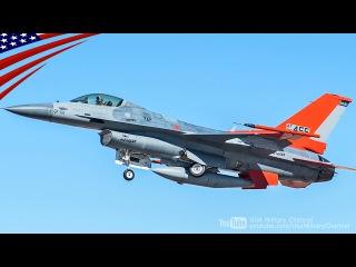 「QF-16」米空軍が空中標的任務に第4世代のF-16戦闘機を改造した無人標的機124