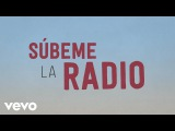 Enrique Iglesias - SUBEME LA RADIO Animated Lyric Video ft. Descemer Bueno, Zion &amp Lennox