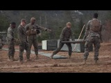 US Marine Corps is a Defensive Position During Exercise Kamoshika Wrath 17-1 (B-Roll)