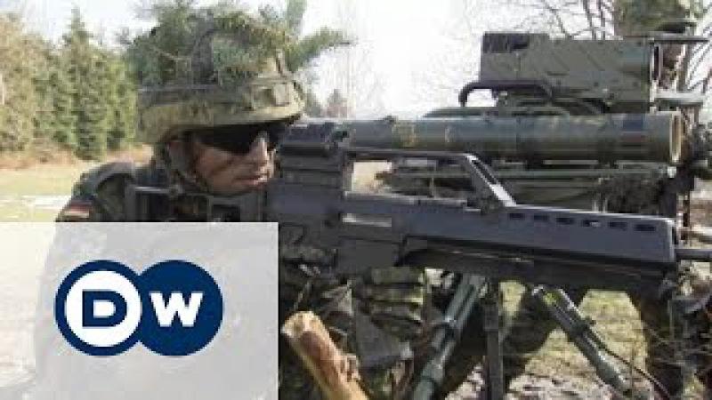 Німеччина збільшує своє військо