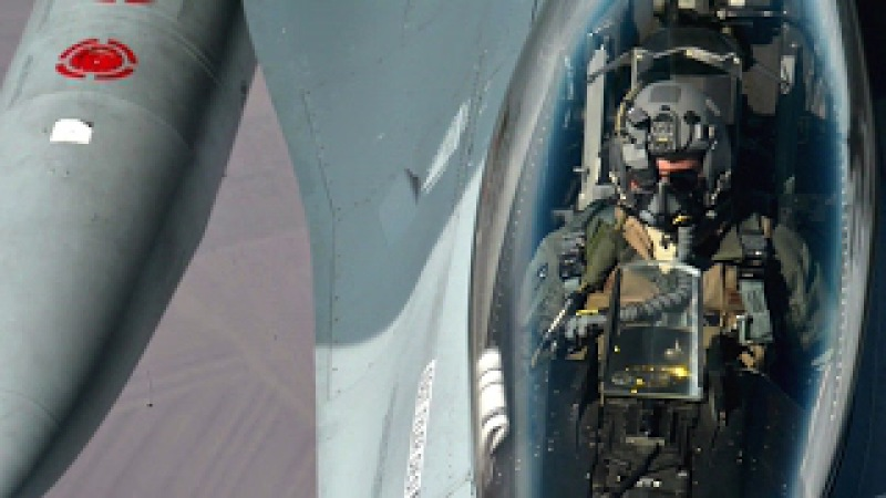 KC-135 Stratotanker Refueling The Flight