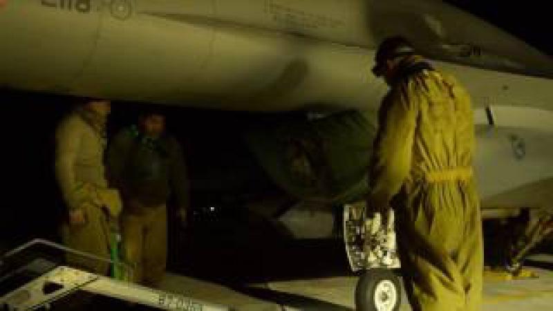 Night operations in Souda Bay
