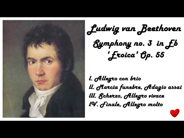 Ludwig van Beethoven - Symphony no. 3 in Eb 'Eroica' in 432 Hz