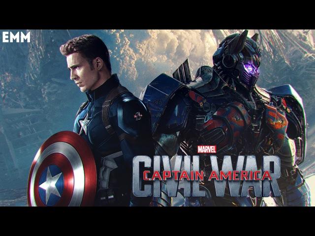 Captain America: Civil War (Transformers: The Last Knight Style)