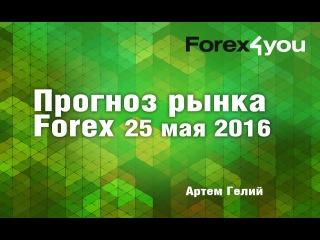 Прогноз рынка #форекс на 25.05.2016