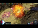Path of Exile 2 minute Gorge Run Vaal Righteous Fire build