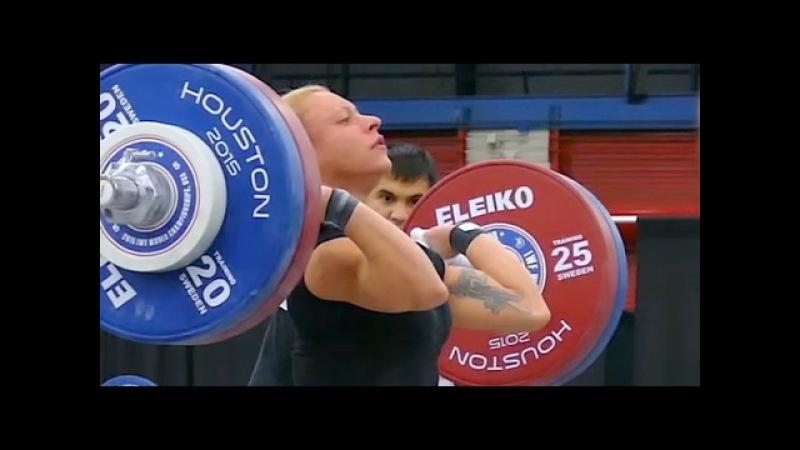 Костова Боянка - Звезда Тяжелой атлетики (вк до 58 кг)/Kostova Boyanka weihgt lifter