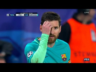 Lionel Messi vs PSG (Away) UCL 16-17 HD 720p - English Commentary By IramMessTV