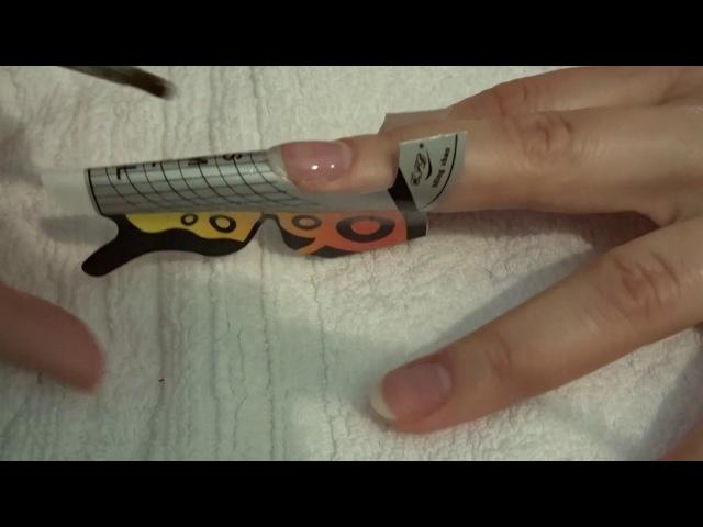 Как наращивать ногти гелем? Легко! обучение » Freewka.com - Смотреть онлайн в хорощем качестве