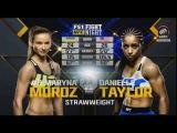 Марина Мороз  Даниэлле Тейлор - Полный бой  Maryna Moroz vs Danielle Taylor - Full Fight