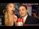 Kendra Sunderland gives a blowjob lesson for Andrea Diprè