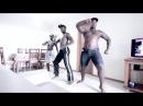 Angolan Boys in Rio de Janeiro Afro house kuduro dance