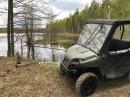 Тест-драйв №2 Polaris Ranger 400 (06.05.2017). Охотхозяйство Сечуга