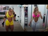 Тренировка фитнес-модель Brisa Porto @ Motivation Workout FITNESS FM #02