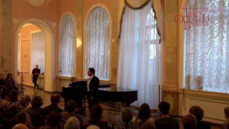 Amor ti vieta from Act II of Giordano's Fedora Artem Golubev