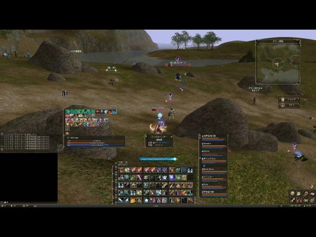 Lineage2 Classic JP Lv79黒弓 Castle Siege gvg