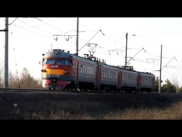 Електропотяг ЕР9ПК-334, перегін Котел - Голофеївка ПІВД.-СХІД. ЗАЛ.