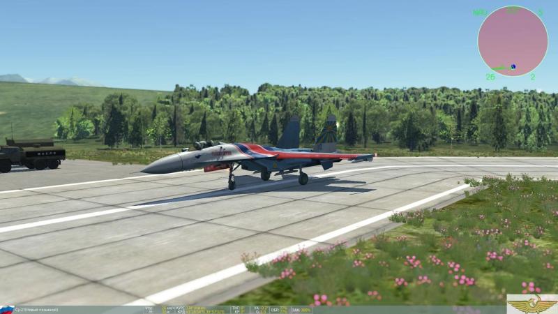 DCS World СУ-27
