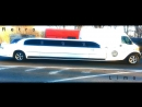White Excalibur Phantom in Traffic jam Retro Limo!